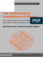 The Mathematical Foundations of Mixing(Rob Sturman, Et Al)