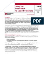 Report on the Desk Review of Feedback Mechanisms Docx1