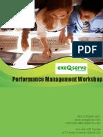 Performance Management Workshop From ExeQserve Corporation