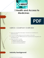 Merck case study analysis