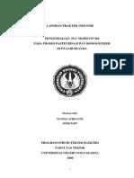 Laporan Praktek Industri Pengendalian Plc Modicon 984 Pada Proses Pasteurisasi Dan Homogeniser Di Pt.sari Husada