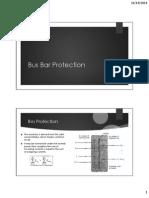 -Bus Bar Protection