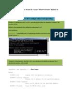 Comenzi de Retea Pentru Sitemul de Operare Windows Folosite Din Linie de Comanda