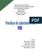 IUPSM - Quimica - Practicas de Laboratorio 1-2-3