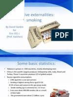 Negative Externalities (1)