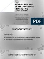 Ht103 Principles of Tourism and Hospitality Marketing