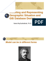 GIS Data Modeling and Database Design (2014)