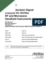 Digital Television Signal Analyzer Measurement Guide