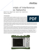 Fundamentals of Interference in Wireless Networks Application Note