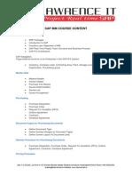 SAP MM Course Content (2)