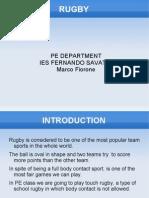 Rugby Union 3º ESO