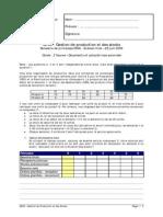 UTBM Gestion de Production Et Des Stocks 2006 IMAP