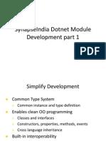 SynapseIndia Dotnet Module Development part 1.ppt