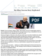 PM Modi Wants This Bihar Success Story Replicated - NDTVProfit