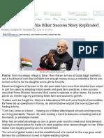 PM Modi Wants This Bihar Success Story Replicated - NDTVProfit
