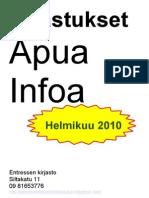 Entressen kirjaston opastukset aikuisille helmikuussa 2010
