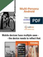 Multi-Persona Android