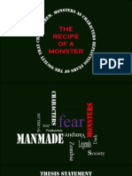 Recipe of a Monster
