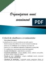 Organizarea Unui Eveniment - Proiect Protocol