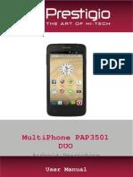 Pap3501duo Manual En