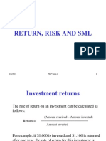 Risk Return Part 1
