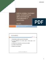 Nueva Norma Contable Para Cooperativas (2011)