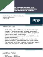 Case Report Session General Anestesi Pada Colostomi Dan Sepsis