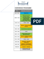 Conference Programme 2014