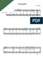 Cesi-Marciano n.3, Canzonetta (W. A. Mozart)