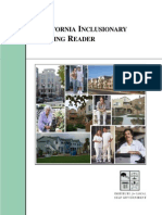 California Inclusionary Housing Reader