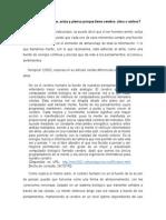 Trabajo de Psicología Alma y Cerebro (Ensayo)
