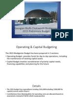 2015 Preliminary Budget Presentation