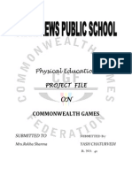 Physical Education Project File