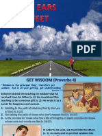 1st Quarter 2015 Lesson 2 From Ears to Feet Powerpoint Presentation