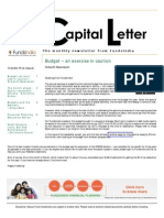Capital Letter March 2013 - Fundsindia.com