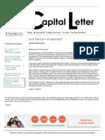 Capital Letter May 2013 - Fundsindia.com