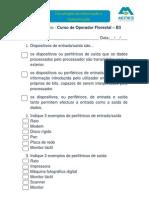 Ficha de Avaliação TIC