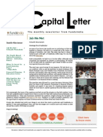Capital Letter August 2013 - Fundsindia.com