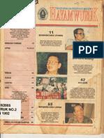 Majalah Hayamwuruk 2 VII 1992