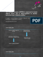 The Obestatin Receptor (GPR39) is Expressed in adipose tissue