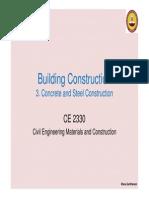 03 Concrete & Steel