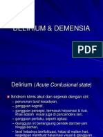 Delirium & Demensia