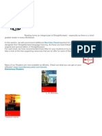 Perfect Reads (Sugestoes de Leitura Para Os Livros SF)