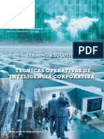 Inteligencia - Cursos Brochure Gctraining&Solutions