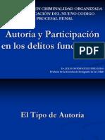 Doctrina - Teoria de La Participacion