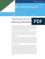 Future of US Retail Banking Distribution MCKinsey Report