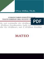 Comentario Exegetico Al Texto g - Perez Millos, Samuel