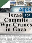 ISRAEL COMMITS WAR CRIMES IN GAZA - Aqsa Newsletter January 2008