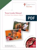 Short Term Team LeaderManual Final Dec12