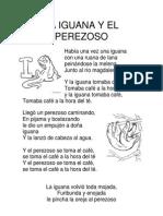 1ro - La Iguana y El Perezoso